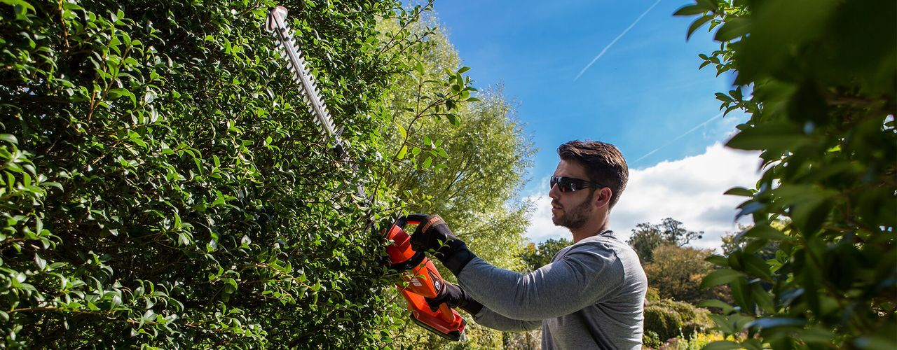 Double-sided Hedge Trimmers