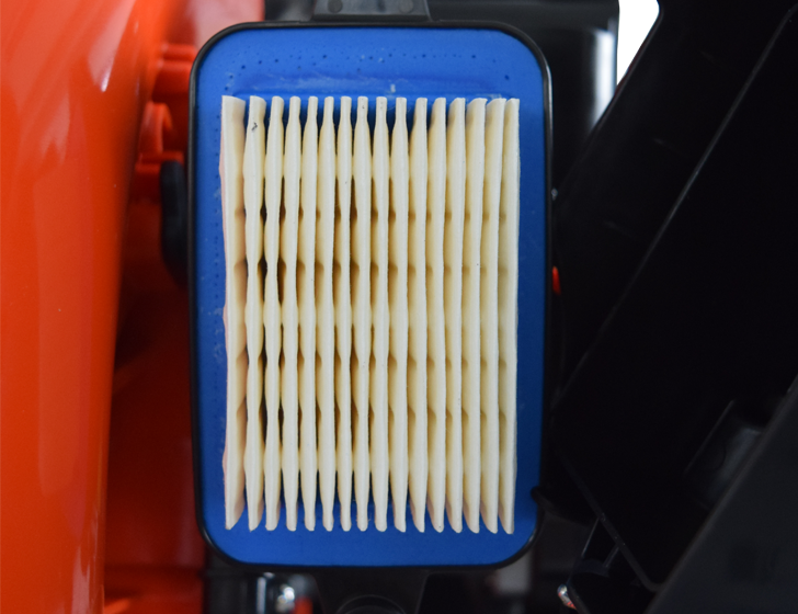 Pleated heavy duty air filter