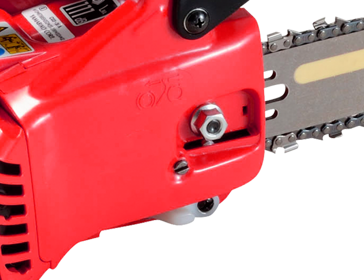 Side access chain tensioner.