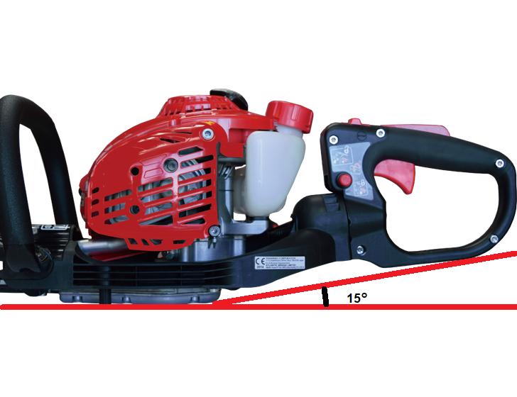 Ergonomically designed handle layout