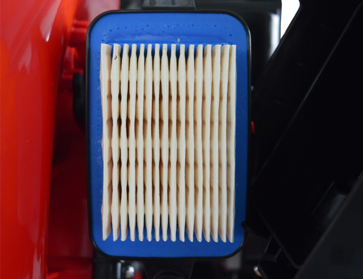 Pleated heavy duty air filter