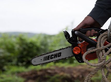 ECHO Chain Saw Basics for Beginners.
