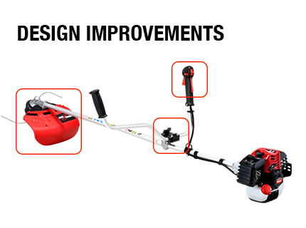 Changes on selected trimmers and brushcutters